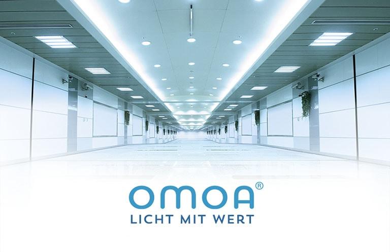 omoa - Licht mit Wert steht für hocheffiziente LED Beleuchtungslösungen