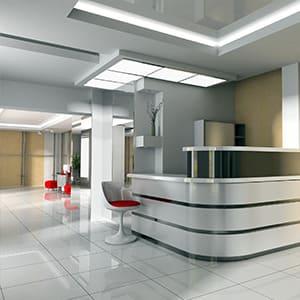 Umrüstung Ihrer Bürobeleuchtung durch KLAS NETWORKS