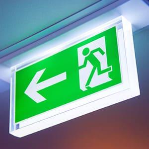 LED Not- und Sicherheitsbeleuchtung durch KLAS NETWORKS