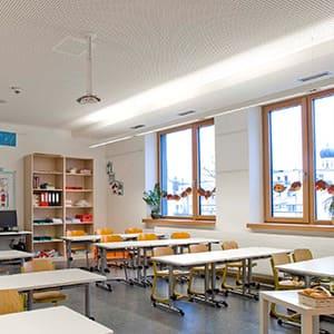 KLAS NETWORKS - LED Klassenzimmerbeleuchtung