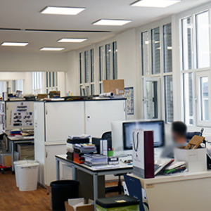 Büroräume der CECEBA BODYWEAR GmbH